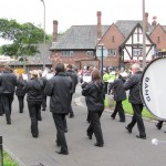 Middleton Band March at Broadoak: Whit Friday 2011